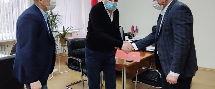 Алексей Хлыстал награждён орденом «За заслуги»